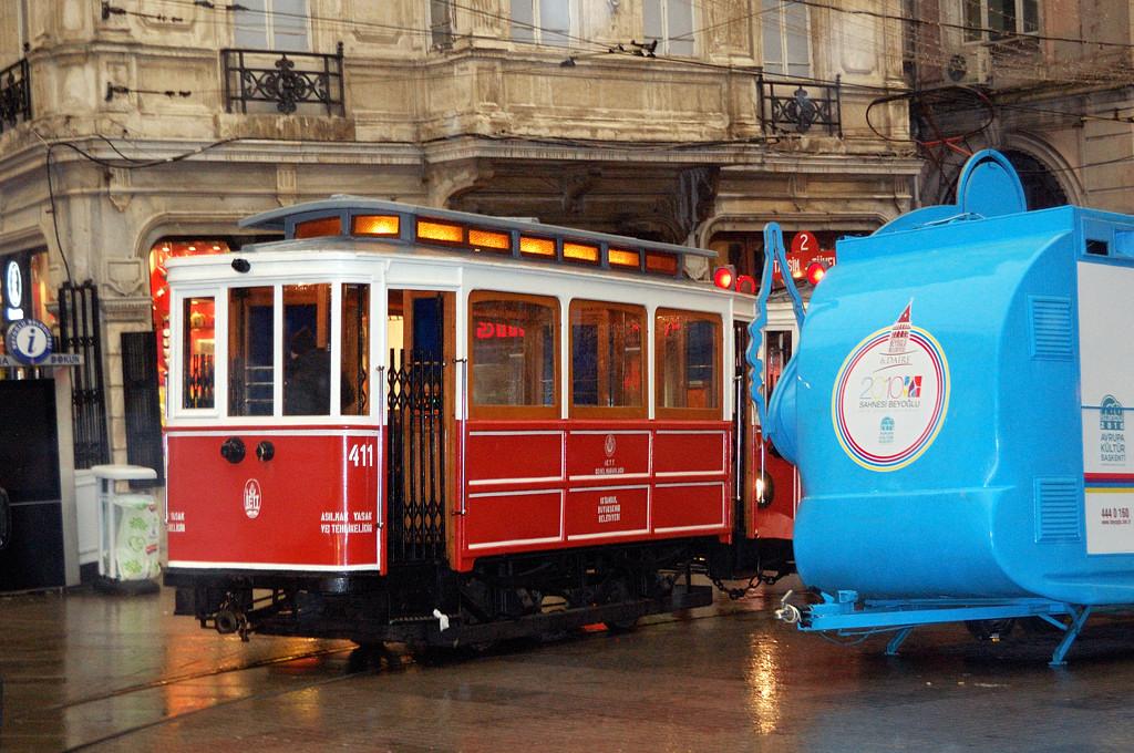 Ностальгический трамвай