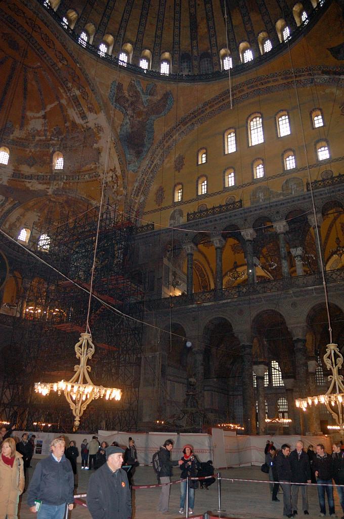 Внутри Святой Софии