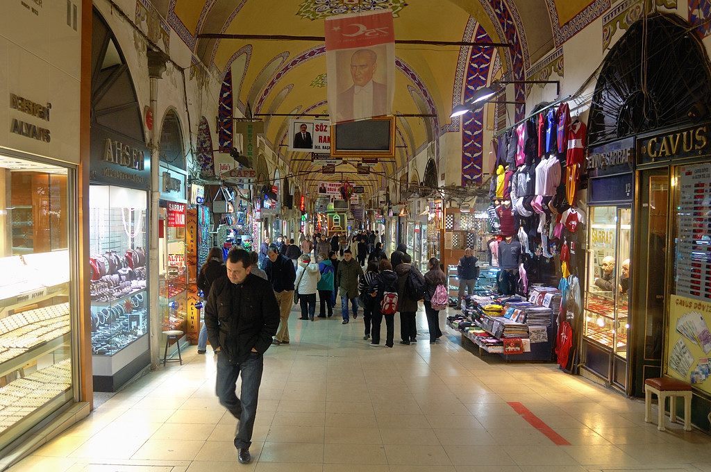 На стамбульском базаре