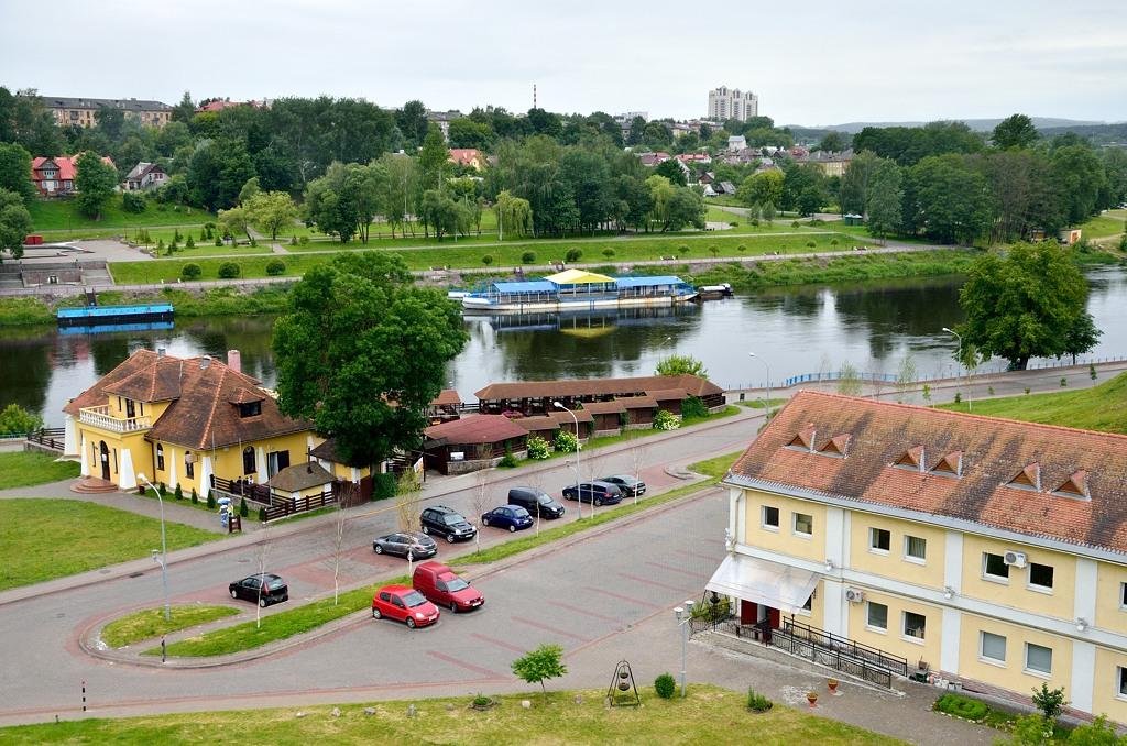 Гродно, на берегу Нёмана (так по-белорусски - через ё)