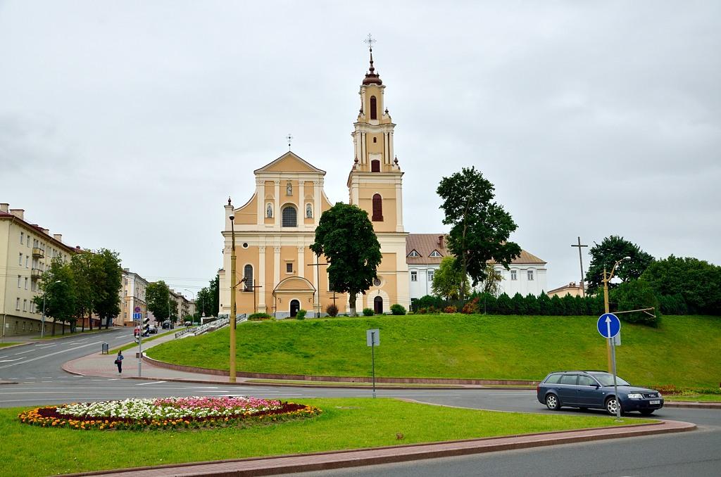Католическая церковь Св. Креста, духовная семинария и монастырь бернардинцев