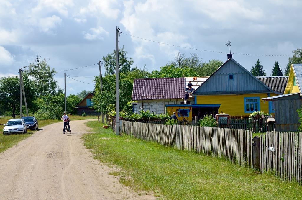 Пашуцкая Буда - деревня внутри Беловежской пущи