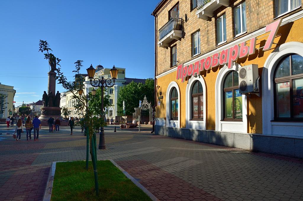 Продуктовые магазины в Белоруссии называют незамысловато. А вот свои кондиционеры в Белоруссии, увы, не производят