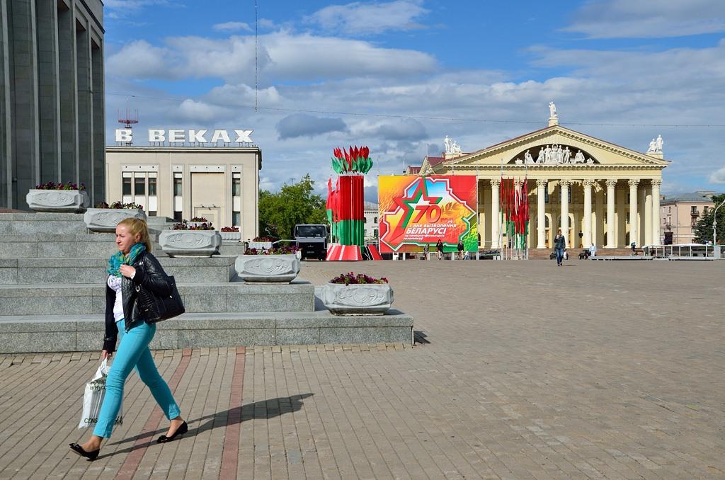 """Здание, где буквы """"ВЕКАХ"""" - это Музей ВОВ"""