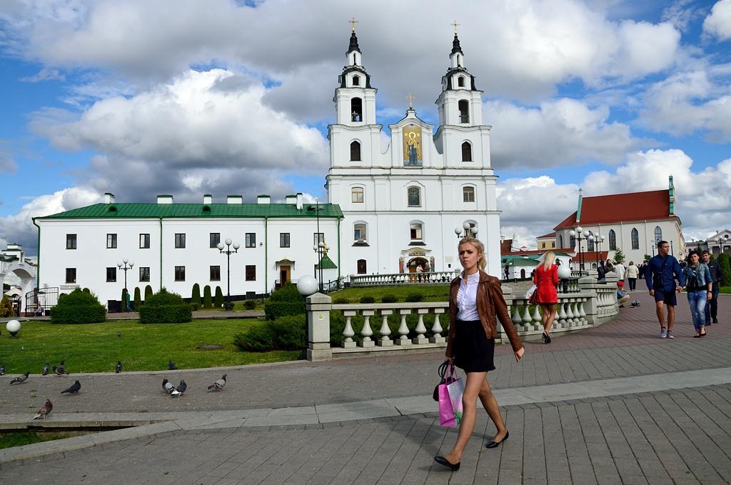 Кафедральный собор Сошествия Святого Духа - главная православная церковь Белоруссии