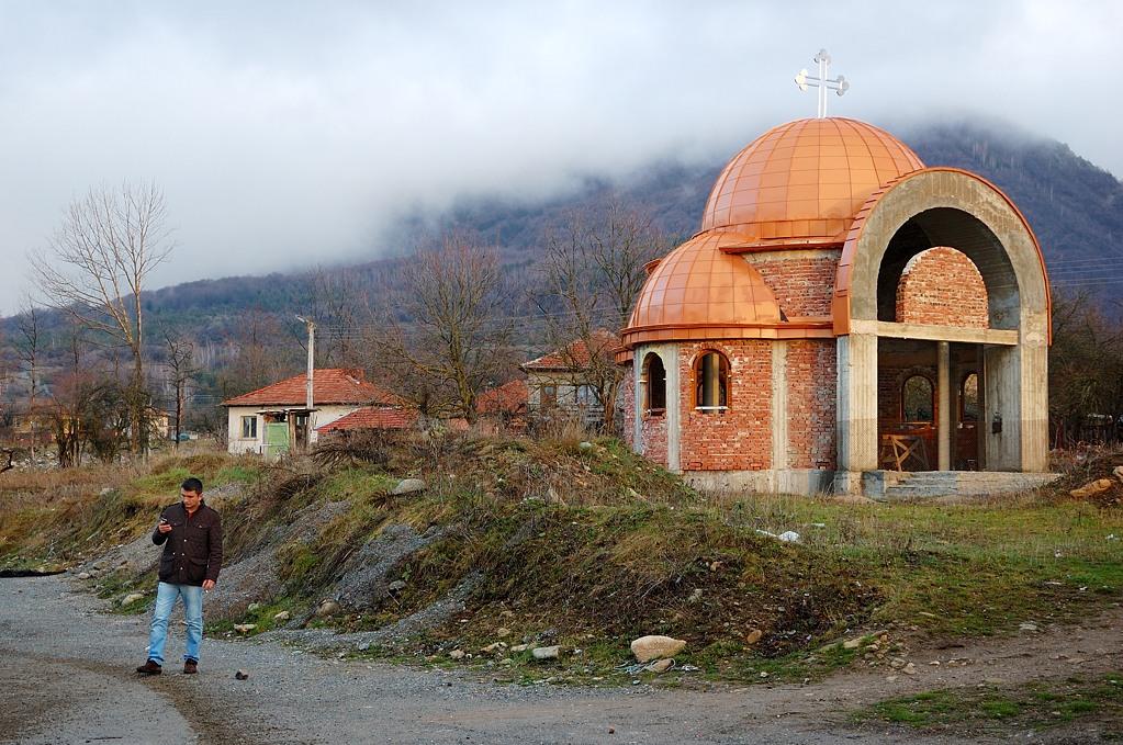 По дороге в Македонию