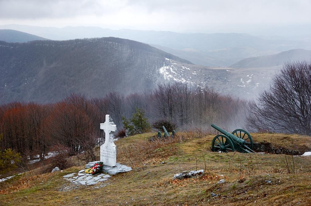 Вот так русские солдаты стояли на склонах Шипки