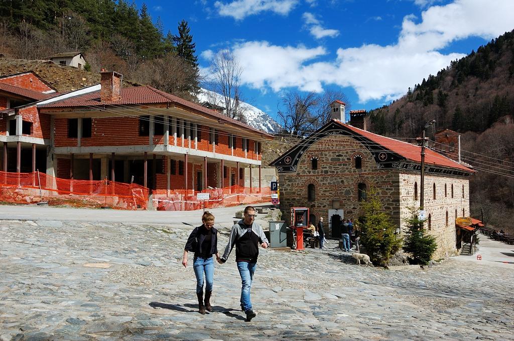 В Рильском монастыре