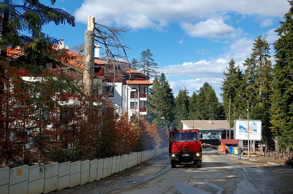 А это уже горнолыжный курорт Боровец