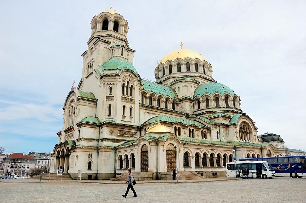 Храм-памятник Александра Невского. Построен в честь русских солдат, освободивших Болгарию от турок
