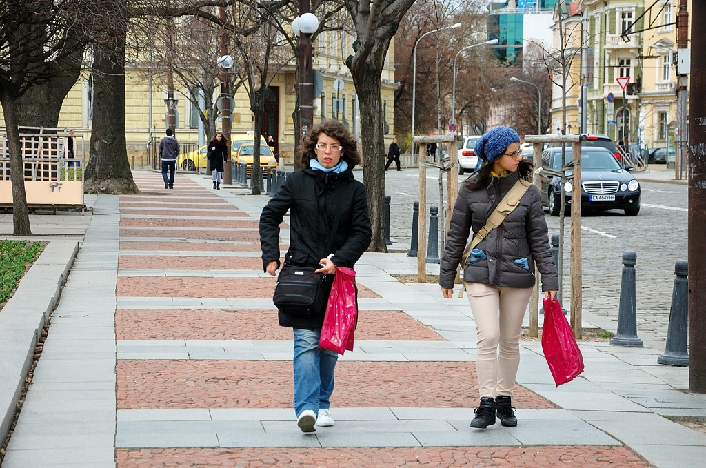 На улицах Софии