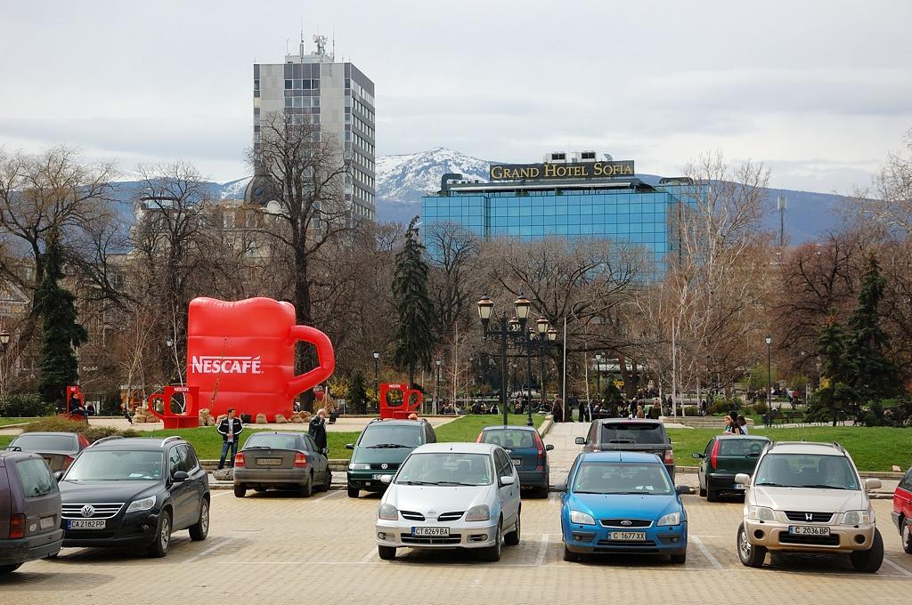 Нескафе, Гранд-отель и горы