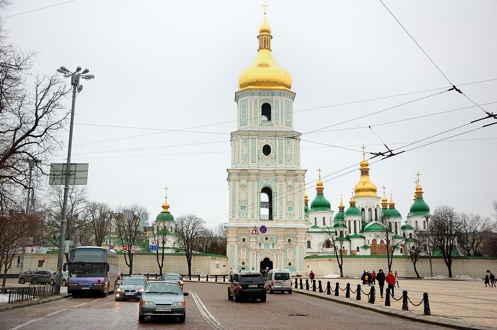Софийская площадь и Софийский собор