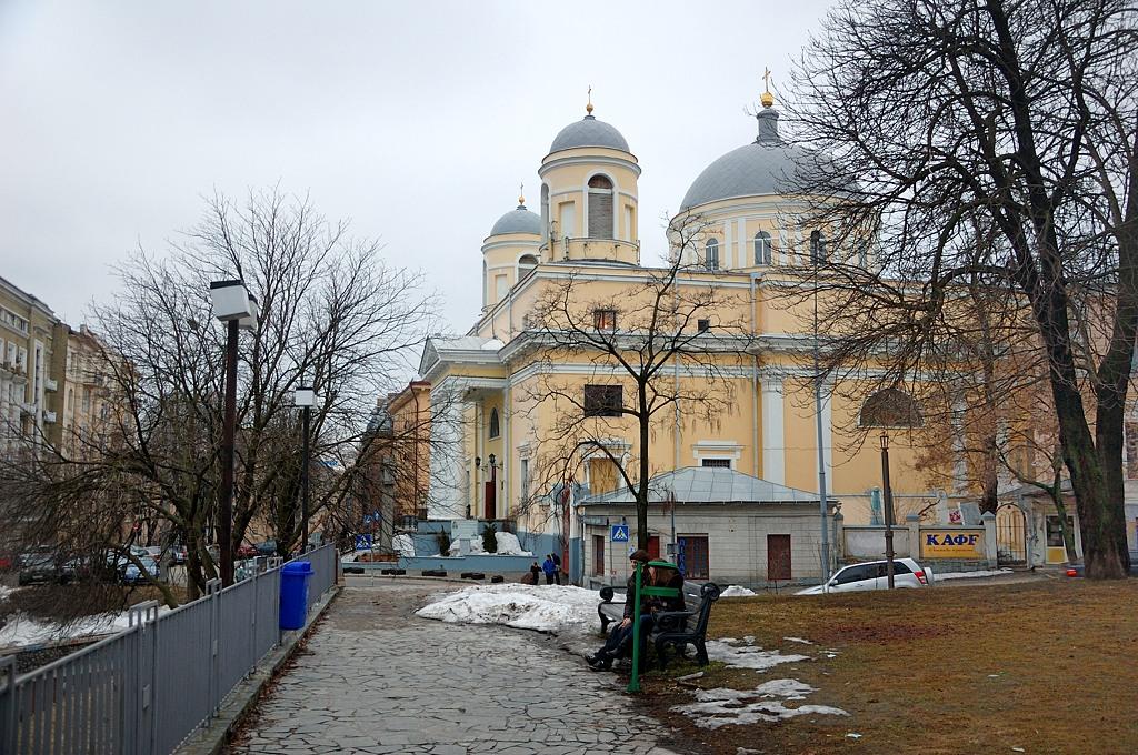 Александровский костел. Построен 1817-1842