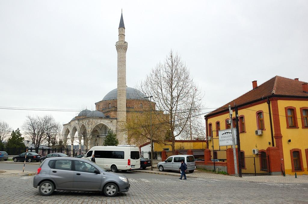 Исторический центр Скопье в основном мусульманский