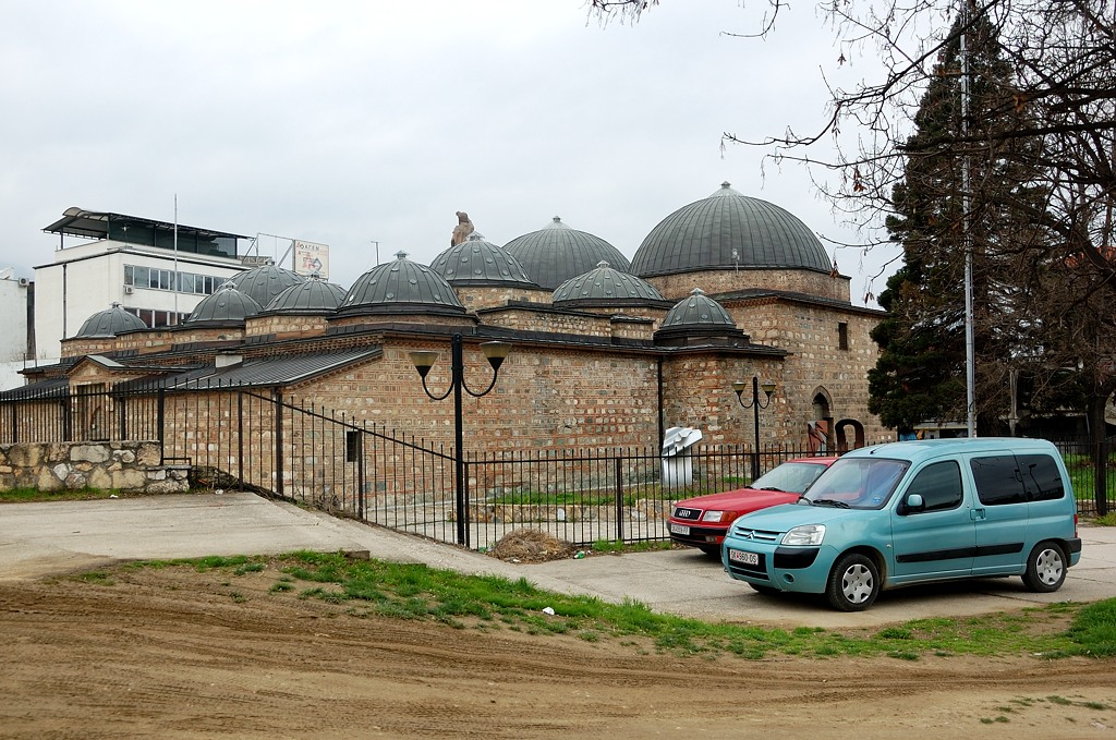 Судя по архитектуре, турецкие бани
