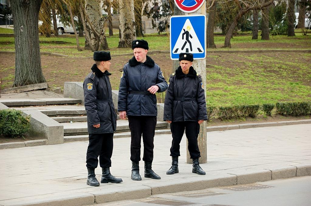 Молдавские правоохранители