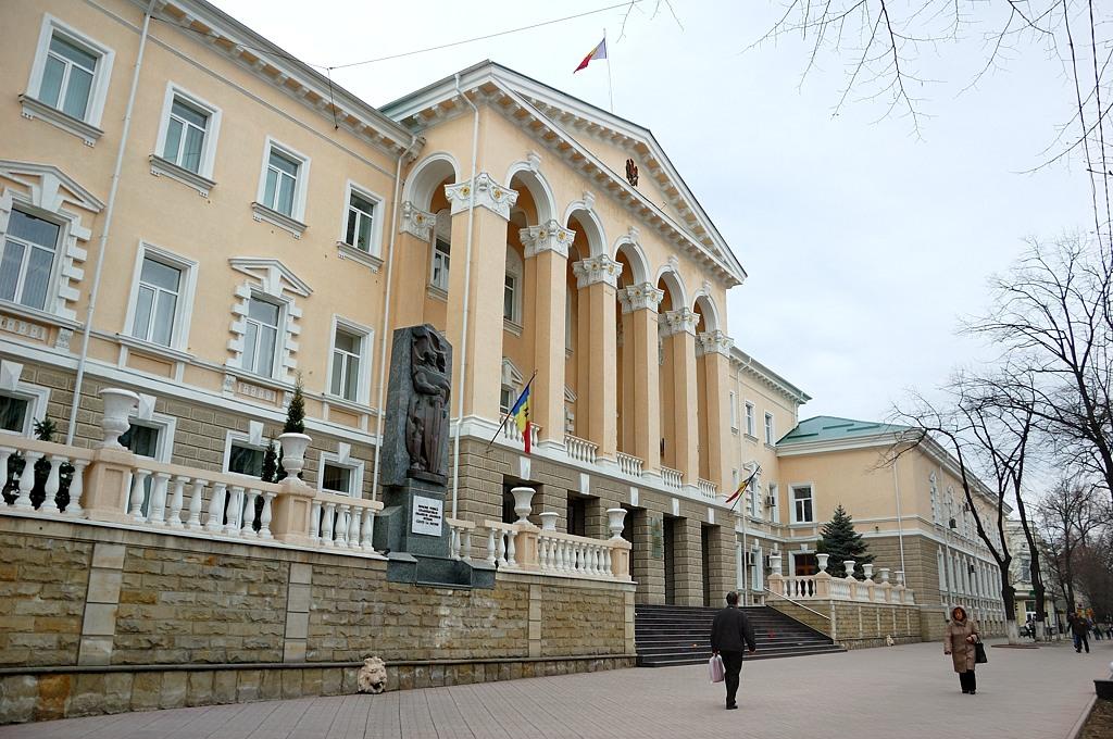 Здание МВД Молдавии