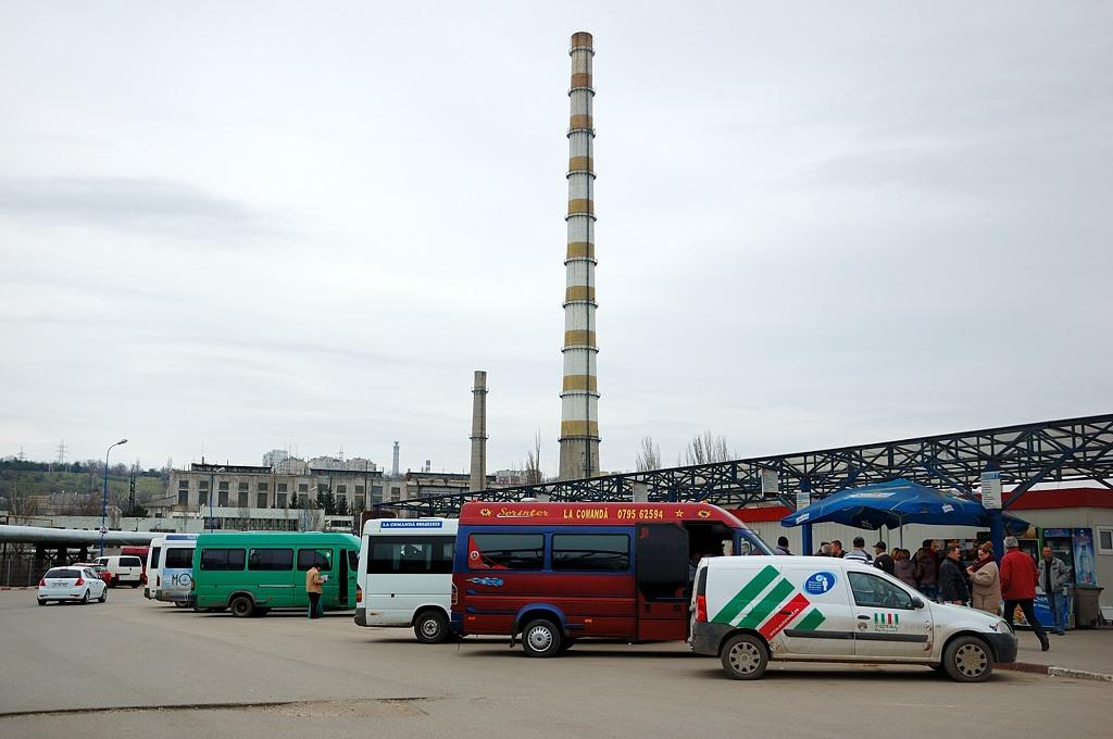 На автовокзале Кишинева