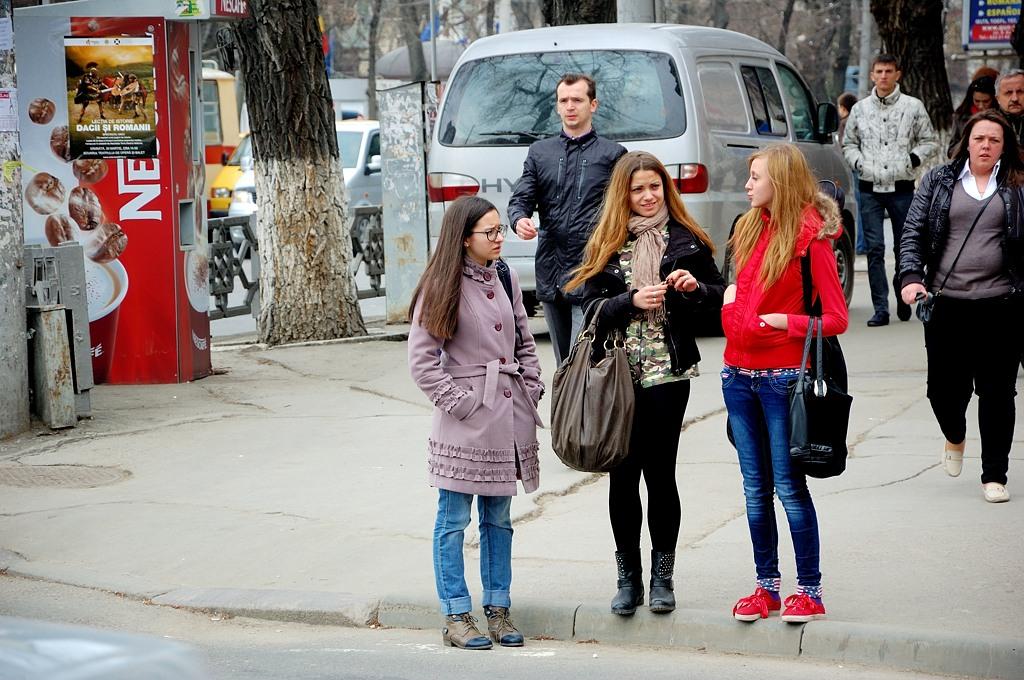 Публика на улицах