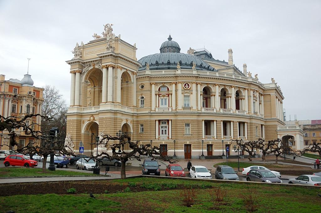 Знаменитый Одесский Оперный театр