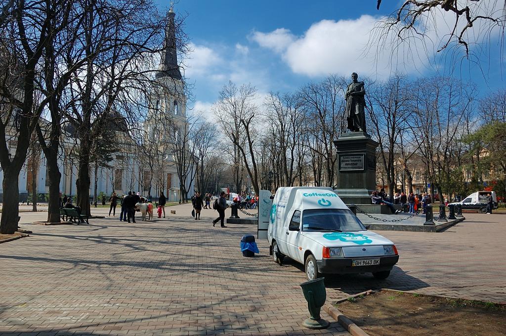 Памятник графу Воронцову, генерал-губернатору Новороссии и Бессарабии