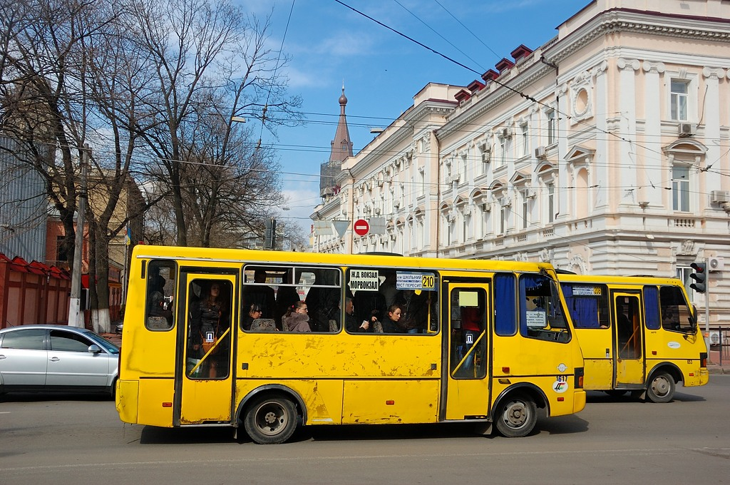 Одесские маршрутки