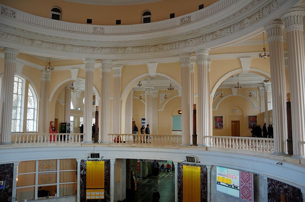 Интерьер Одесского вокзала
