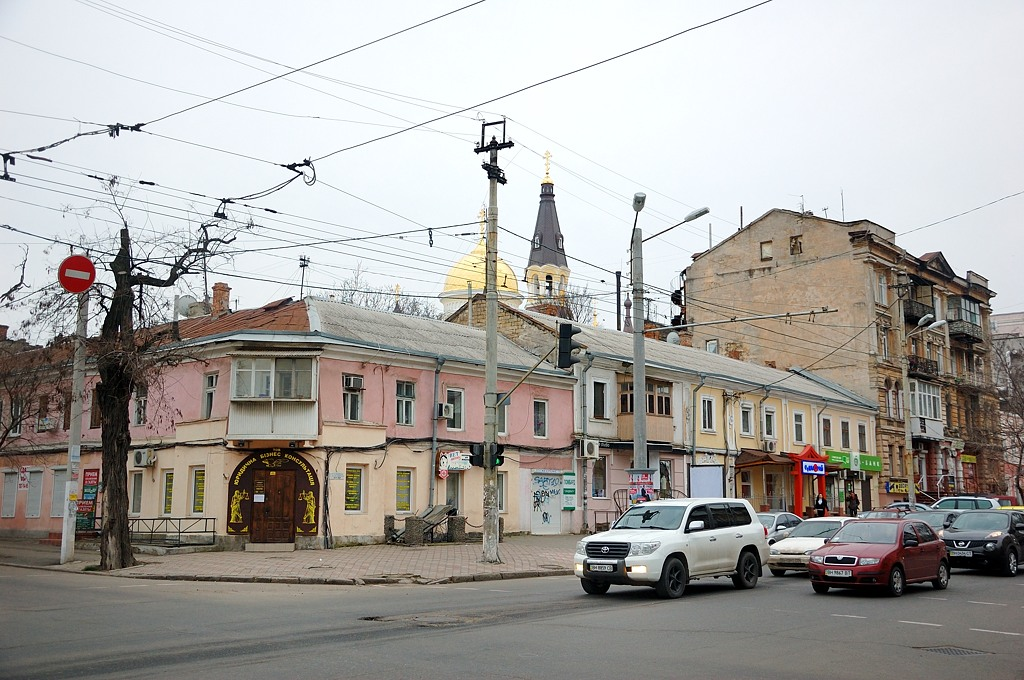 На одесских улицах