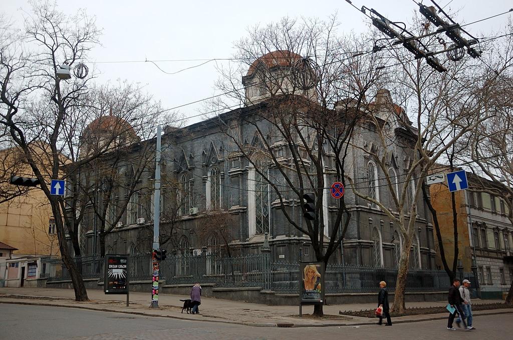 Историческая Бродская синагога