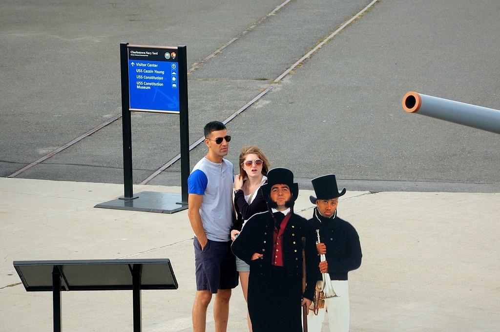 Туристы на берегу