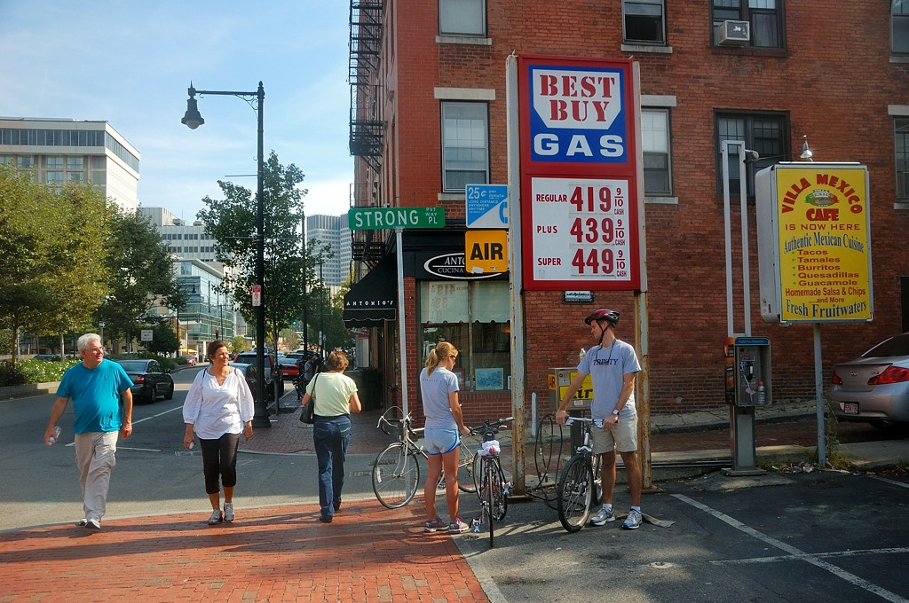 На улицах Бостона