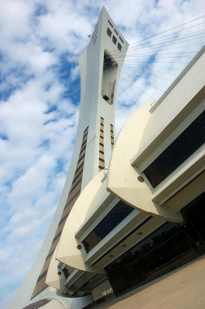 А это Обсерватория - наклонная башня над олимпийским стадионом