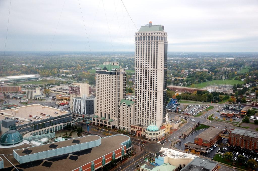 Вид на город с башни
