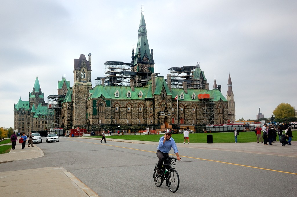 Парламент, западный блок