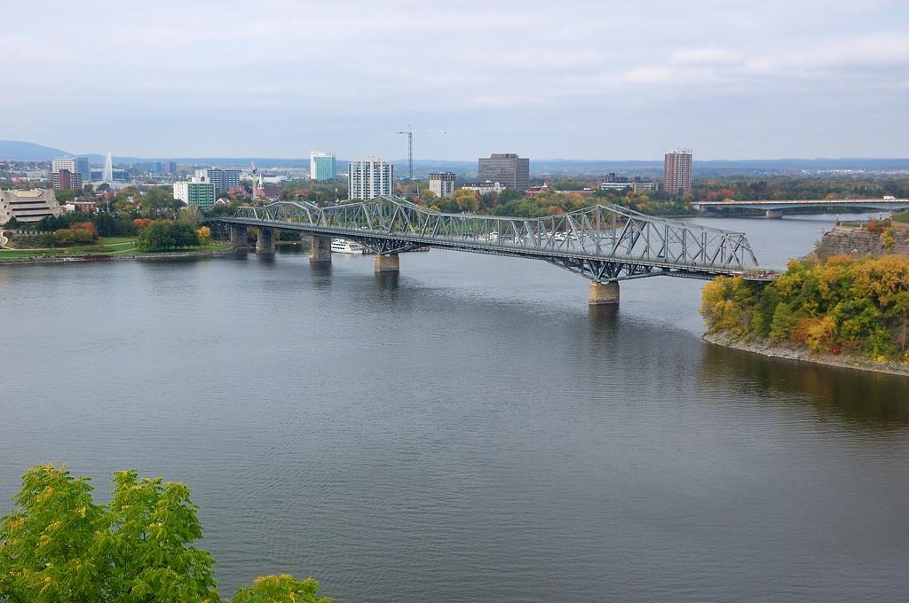 Вид на реку Оттава