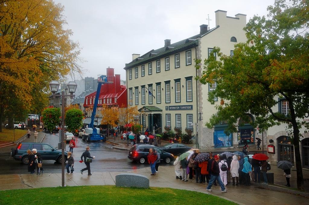 Снова в центре старого города