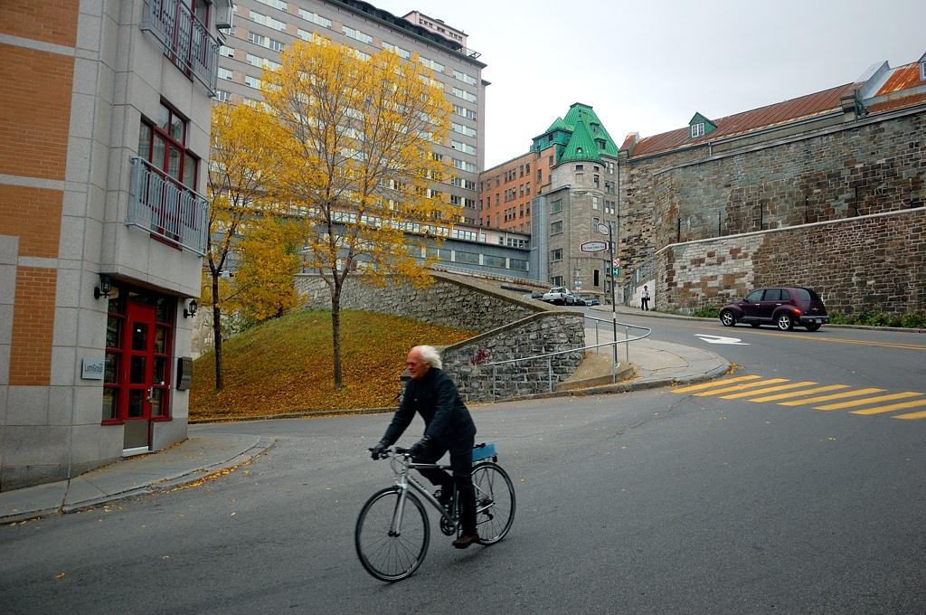 На улицах Квебека
