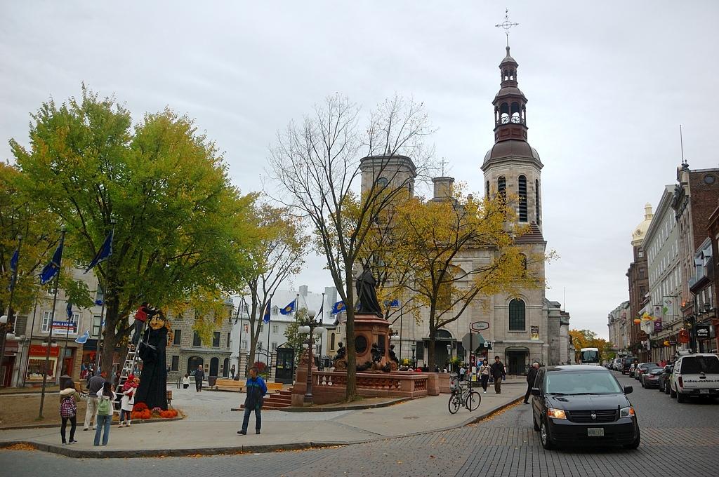 На центральной площади старого города