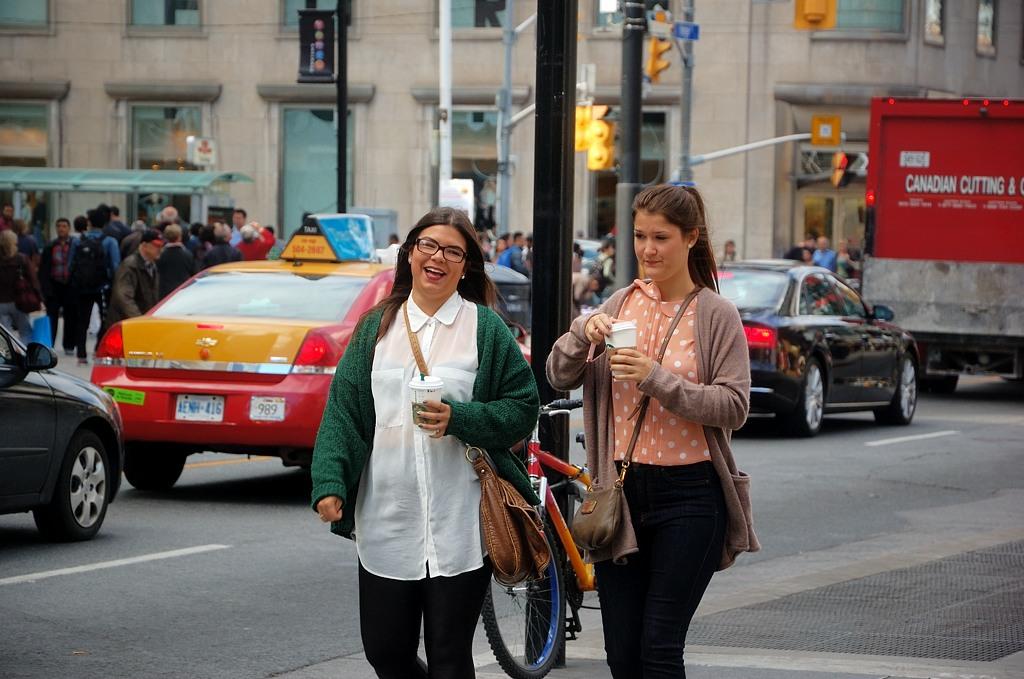 На улицах Торонто