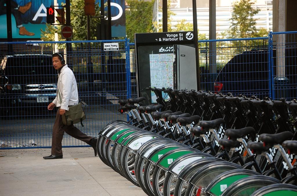 Автоматизированная станция проката велосипедов
