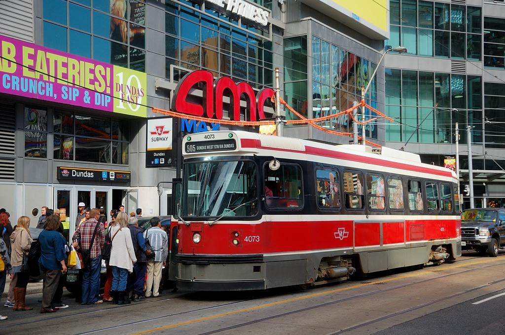 Торонто - город трамваев