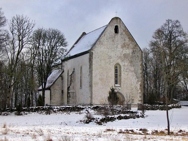 Сааремаа. Церковь Карья Катарийна