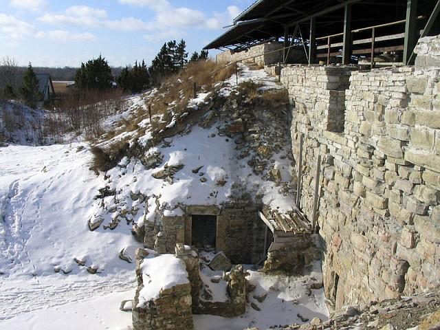 Сааремаа. Развалины замка Maasilinna (нем. Soneburg)