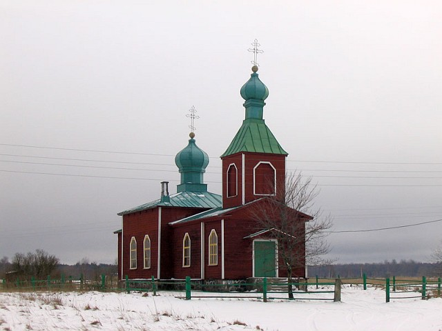 Православная церковь на севере острова Сааремаа