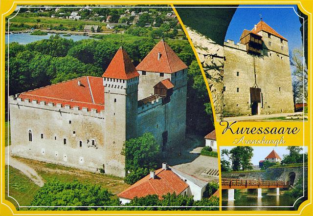 Estonia. the island of saaremaa. the bishop's castle in kuressaare