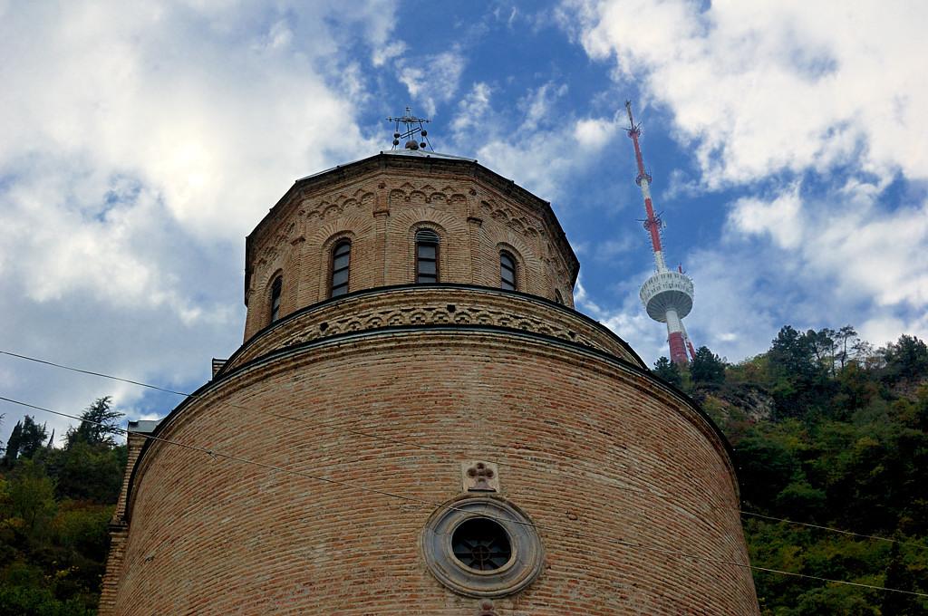 Тбилиси. Церковь Пантеона