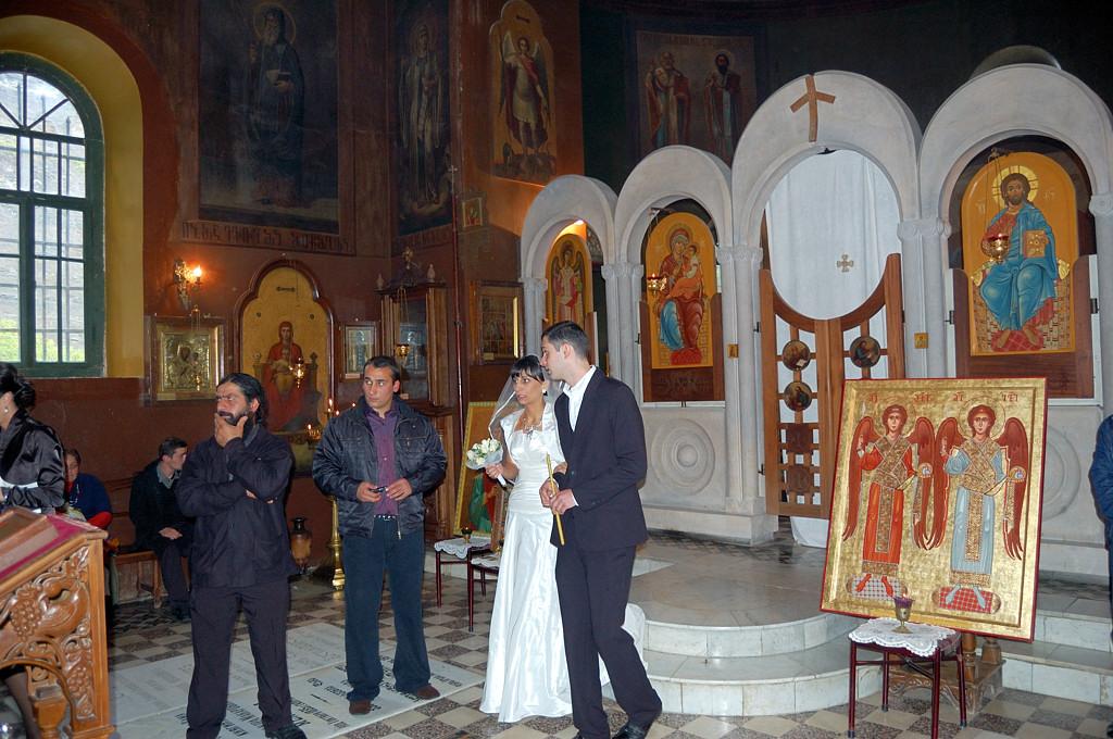 Тбилиси. Венчание в церкви Пантеона