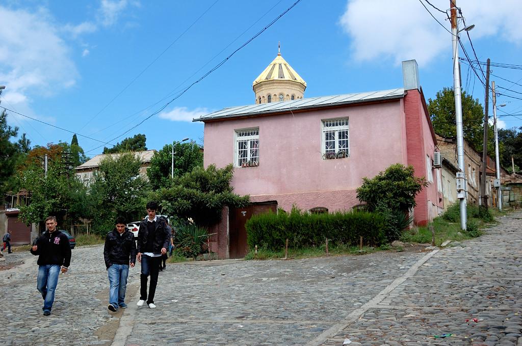 Тбилиси. Район Авлабари