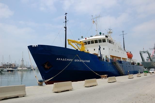Российское судно Академик Шокальский